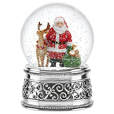 Reed & Barton Jingle All The Way Small Snowglobe