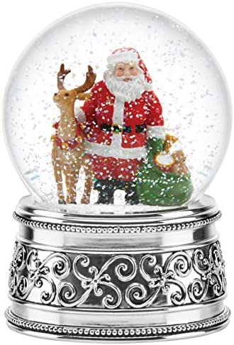 Reed Barton Jingle All The Way Small Snowglobe