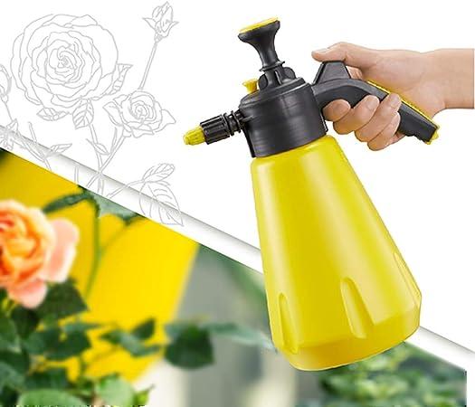 LSLMCS Pulverizador De Presión Botella De Spray De Resina Manual Regadera De Jardín Portátil Siembra Herramienta De Jardinería Pulverizadores De Agua, 2L (Color : Yellow): Amazon.es: Hogar
