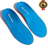 Orthotic/Orthopedic Arch Support Shoe Inserts/Insoles for Flat Feet,Feet Pain,Plantar Fasciitis,Pronation,Bunion For Men and Women