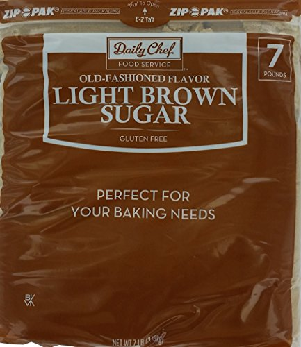 Bakers & Chefs Light Brown Sugar - 7 lb. bag