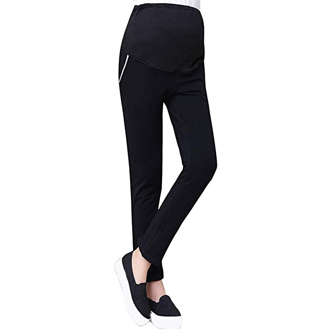 3a0ab1fd13725 Zhhmeiruian Winter Pregnancy Leggings Maternity Trousers - Pregnant Women  Sports Pant: Amazon.ca: Clothing & Accessories