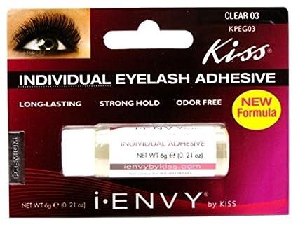 Kiss Me Envy clara 03 - Pestañas Individuales 0.21oz: Amazon.es: Belleza