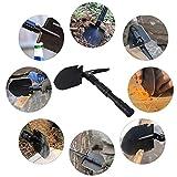 Camping Gardening Shovel Multitool, CHINLIN Portable Multi-function Folding Heavy Duty Shovel Non-slip Anti-rust for Backyard Outdoor Survivals