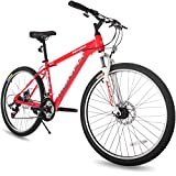Merax 21 Speed Hardtail Mountain Bike with Dual Disc Brakes 26inch
