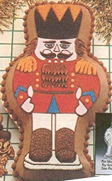 Wilton Toy Soldier Nutcracker Drummer Boy Holiday Christmas Cake Pan 502-5161, 1979 Retired