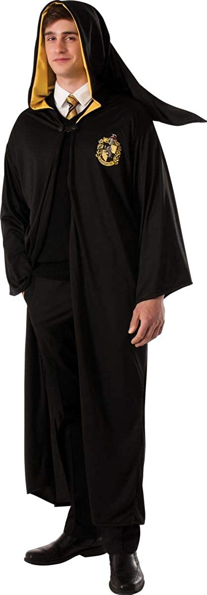 Rubies Costume Mens Harry Potter Deathly Hallows Hufflepuff Adult Costume Robe