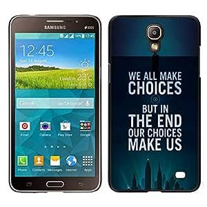EJOY---Cubierta de la caja de protección para la piel dura ** Samsung Galaxy Mega 2 ** --opciones inspiradoras cartel de motivación