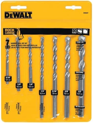 Builders Brand Masonry Drill Bit Set 15 piece