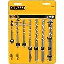 DEWALT DW5207 7-Piece Premium Percussion Masonry Drill Bit Set