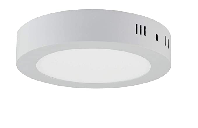 Plafoniera Led Soffitto Rotonda : Plafoniera a led da 12 w luce bianca calda 910 lumen Ø 170 mm