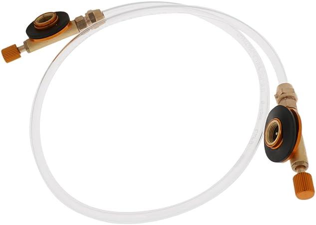 Gazechimp 72cm Adjustable Gas Guía Tubo Válvula Adaptador ...