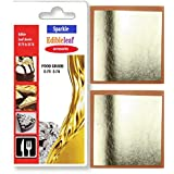 10 Real Silver Leaf Leaves Genuine Pure 999/1000 Edible Gilding 40mm x 40mm by Pure Gold