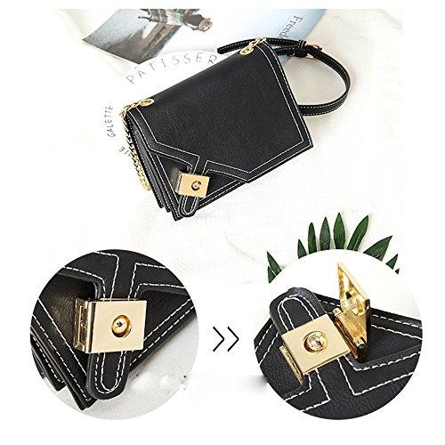 oblique women bags Black cross bag Axiba mobile phone Single shoulder multifunction wqZdTRIHP