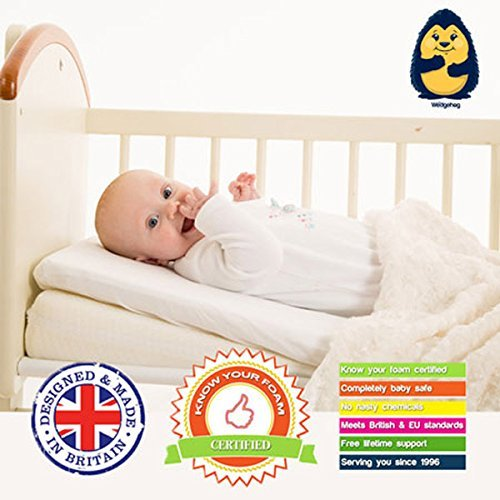 Wedgehog Crib Carrycot Pram For Reflux And Congestion Includes