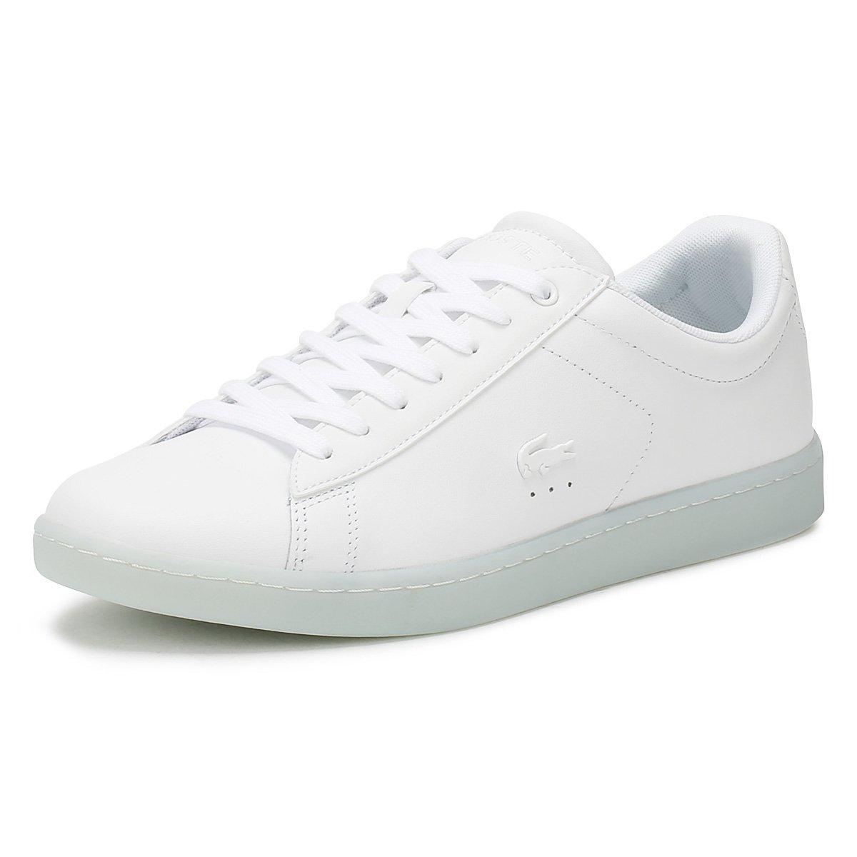 Lacoste Mujer Blanco / Light Azul Carnaby EVO 118 3 Zapatillas 35.5 EU|Blanco