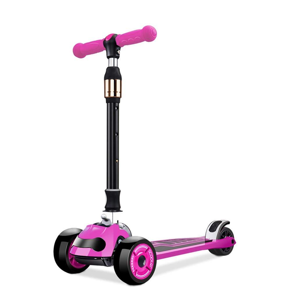 CMXIA Scooter per Bambini è Adatto per 3 Anni e 6 Anni Scooter a 3 Ruote per Bambini con più Colorei tra Cui Scegliere, c'è Sempre Un Bambino piacerà. ( Colore   rosa )