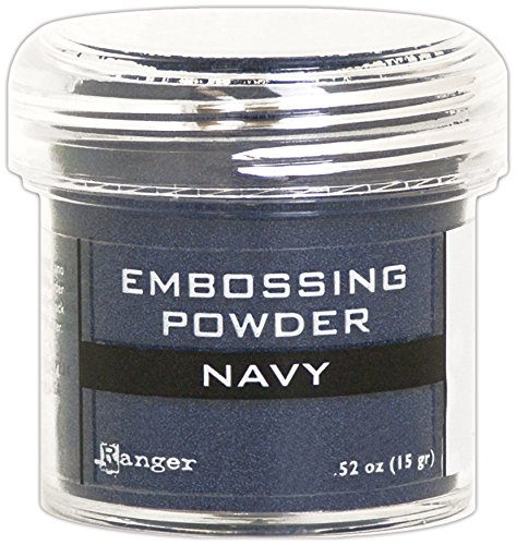 Ranger Navy Metallic Embossing ()