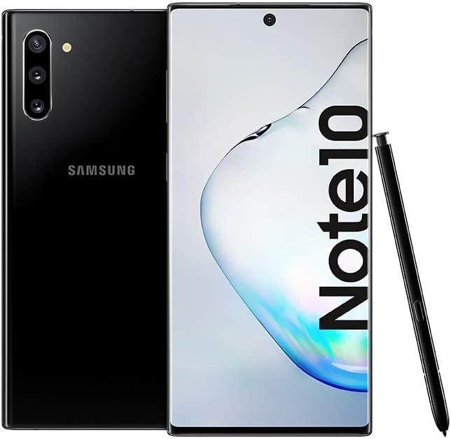 Samsung Galaxy Note 10 Dual SIM 256GB 8GB RAM 4G LTE (International Version) – Aura Black