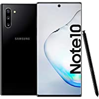 Samsung Galaxy Note 10 Dual SIM 256GB 8GB RAM 4G LTE (UAE Version) - Aura Black - 1 year local brand warranty