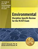 img - for Environmental Discipline-Specific Review for the FE/EIT Exam book / textbook / text book