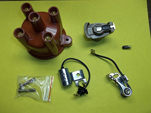 - Volvo Penta 4 Cylinder Tune Up Kit Points Condenser Rotor Distributor Cap AQ125 AQ131 841263
