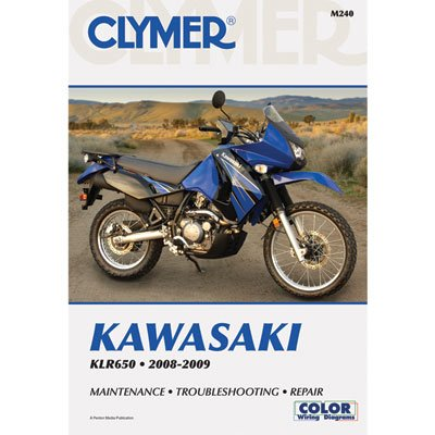 amazon com clymer repair manuals for kawasaki klr650 2008 2018 rh amazon com 2006 kawasaki klr650 service manual V-Strom 650