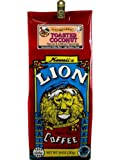 Hawaiian Value Pack Lion Coffee Ground Toasted Coconut 4 Bags