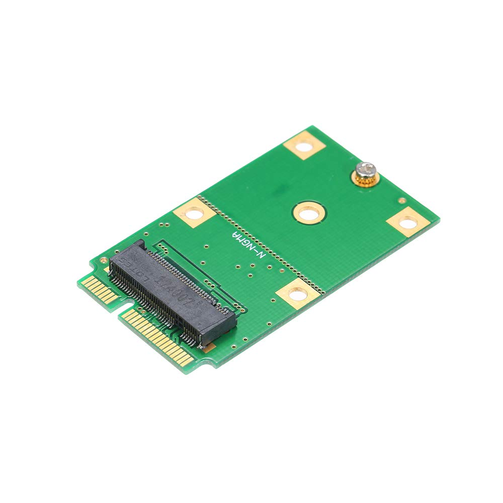 Grborn M.2 NGFF SSD a mSATA SSD Adaptador Tarjeta SSD Convertidor ...