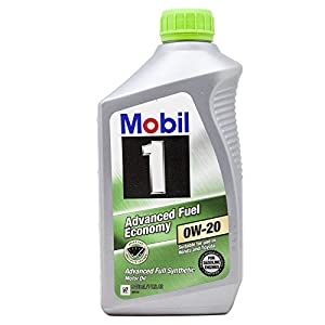 Mobil 1 98KF98 0W-20 Advanced Fuel Economy Synthetic Motor Oil - 1 Quart
