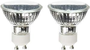 (2)-Bulbs Halogen for Broan QP136 Range Hood 35W MR-16 GU10 120V 35-Watts Light Bulbs Anyray