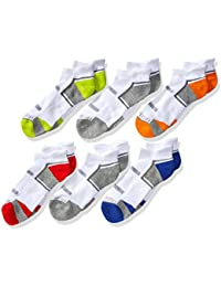 Big Boy's Everyday Active Low Cut Tab Socks (6 Pack)