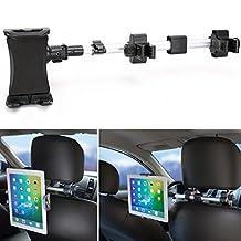 Tablet Mount Holder iKross Universal Tablet Car Backseat Headrest Extendable Mount Holder For Apple iPad Pro 10.5, iPad Pro 9.7, iPad Air/Mini, Samsung Galaxy Tab, and 7-10.2-inch Tablet - Black