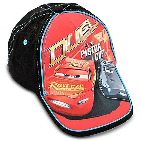Disney Toddler Boys Cars Piston Cup Cotton Baseball Cap, Age 2-4