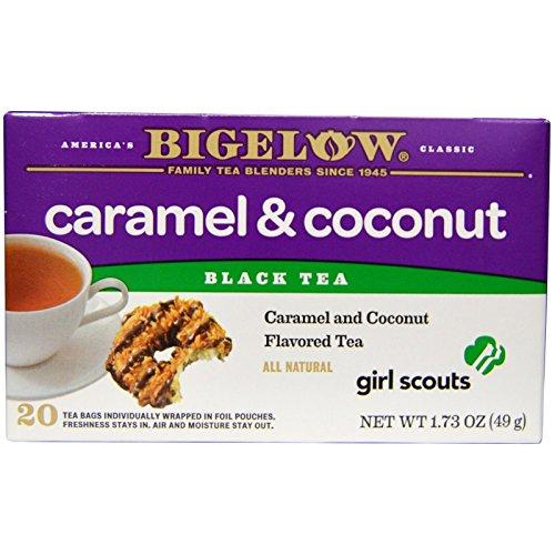 Bigelow, Black Tea, Girl Scouts Caramel & Coconut, 20 Tea ...