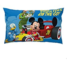 "Disney Junior Mickey Mouse and The Roadster Racers 20"" x 30"" Reversible Pillowcase"