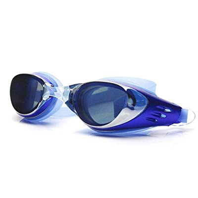 lunettes de natation fuite brouillard lunettes de natation protection UV pour protéger les hommes adultes libres jeunes enfants lunettes de silicone Mme Noir Rouge Gris