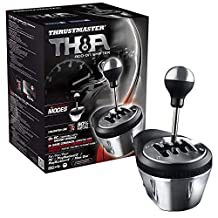 THRUSTMASTER TMST4060059, Playstation3/Playstation4/Xbox One/Pc Th8A Add-On Gearbox Shifter - Gearbox Shifter Add-On Edition