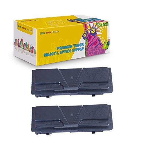 New York TonerTM New Compatible 2 Pack TK140 TK142 TK144 High Yield Toner for Kyocera-Mita - FS 1100   1100N . -- Black