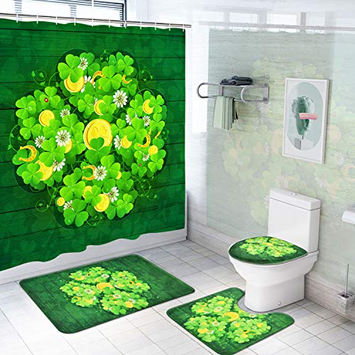 St.Patrick's Day Shower Curtain Set