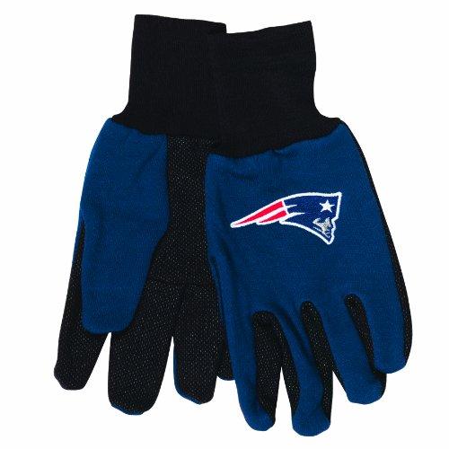 スピン電気技師ほのかNFL新しいEngland Patriotsスポーツユーティリティ手袋