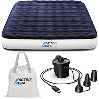 Active Era Camping Air Bed with USB Rechargeable Pump - Inflatable Air Mattress with Integrated Pillow, Travel Bag… 12
