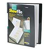 CRD50132 - ShowFile Display Book w/Custom Cover Pocket