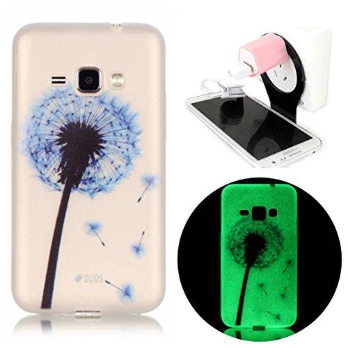 Slim Shockproof Case for Samsung Galaxy J1 (Dark Blue) - 9