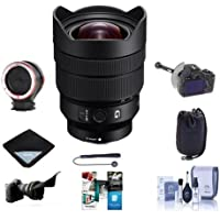 Sony FE 12-24mm f/4 G E-Mount Lens - Bundle With Lens Pouch, Flex Lens Shade, Cleaning Kit, CapleashII, Software Package, FcsShifter DSLR Follow Focus, Lens Wrap 19x19, Peak Lens Changing Kit Adapter