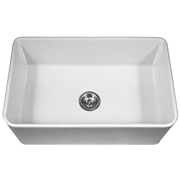 Houzer PTG 4300 WH Platus Series Apron Front Fireclay Single Bowl Kitchen  Sink, Amazing Ideas