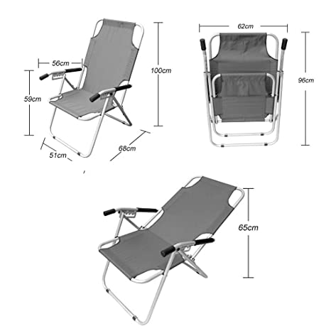 Amazon.com: Sillas reclinables para jardín, tumbonas ...