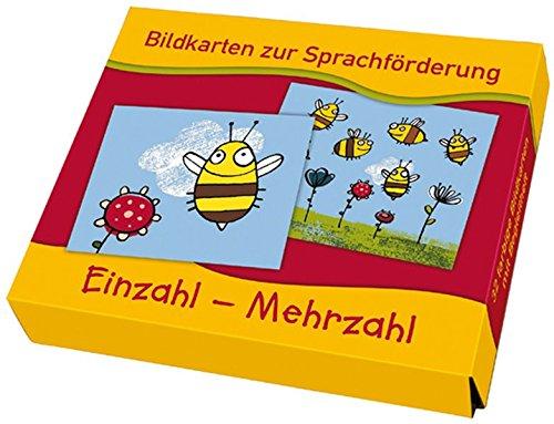 Einzahl – Mehrzahl (Bildkarten zur Sprachförderung)