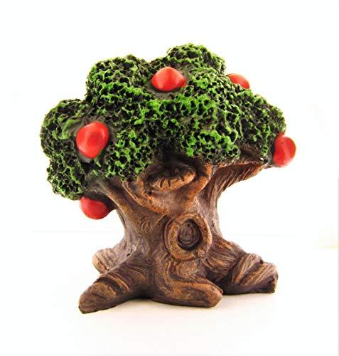 ShopForAllYou Figurines and Statues Miniature Fairy Garden Apple ()