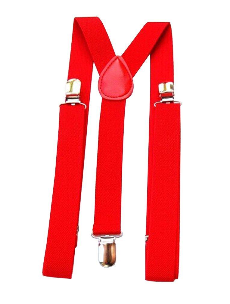 Mens//Womens Suspenders Adjustable Various Neon Colors green Ninimour